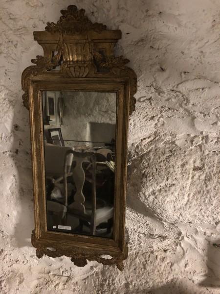 199.) Gustavian mirror by Carl Gustaf Fyrwald Stockholm  (publ. 22/6-18)