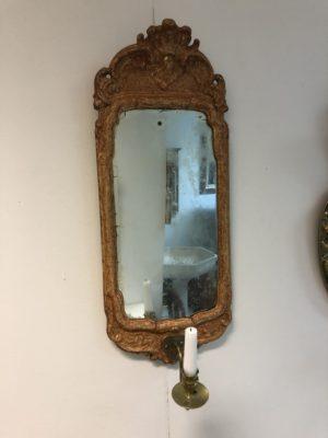 275.) Spegellampett rokoko 1700-tal  (publ13/5-20)