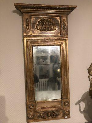 240.) Sengustaviansk/empire spegel   (publ.13/11-19)