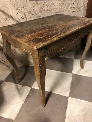 246.) 1700-tals rokokobord/1800 Century table   ( publ.9/12-19)
