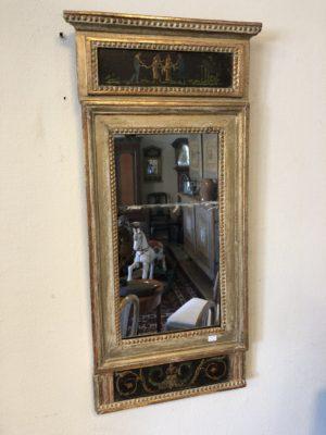 260.) Sengustavianska spegel i originalskick  (publ.25/3-20)